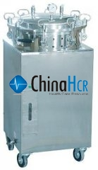 Series stainless-steel steam-pressure disinfecting apparatus